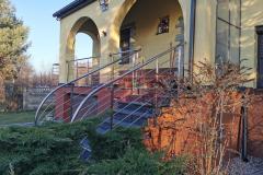 Balustrada Stal nierdzewna Schody Taras Balkon  (10)