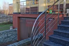 Balustrada Stal nierdzewna Schody Taras Balkon  (13)