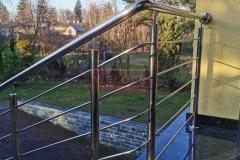 Balustrada Stal nierdzewna Schody Taras Balkon  (16)