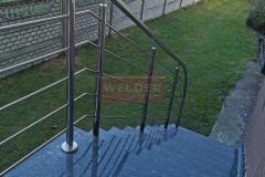 Balustrada Stal nierdzewna Schody Taras Balkon  (21)