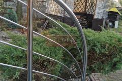 Balustrada Stal nierdzewna Schody Taras Balkon  (24)