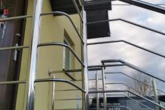Balustrada ze stali nierdzewnej AISI 304 POLER Welder Balustrada Inox (13)