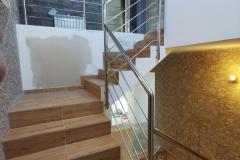 balustrada stal nierdzewna poler Schody Zabiegowe (13)