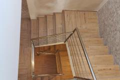 balustrada stal nierdzewna poler Schody Zabiegowe (16)