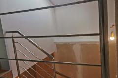 balustrada stal nierdzewna poler Schody Zabiegowe (18)