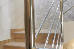 balustrada stal nierdzewna poler Schody Zabiegowe (23)