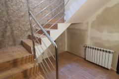 balustrada stal nierdzewna poler Schody Zabiegowe (30)