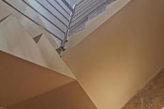 balustrada stal nierdzewna poler Schody Zabiegowe (4)