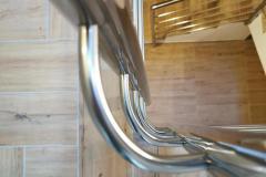 balustrada stal nierdzewna poler Schody Zabiegowe (46)