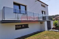 Balustrada-stal-nierdzewna-Szklo-VSG-Stainless-steel-Balustrade-with-glass-VSG-27
